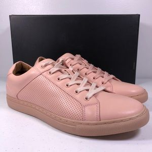 Bar III Toby Lace Up Pink Sneaker Shoes